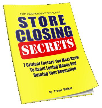 Store Closing Secrets Free Book