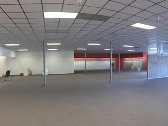 Picture of Empty Store after Liquidation
